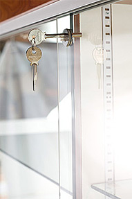 Plunger Lock for Sliding Doors