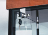 Security Lock for Hinged Door