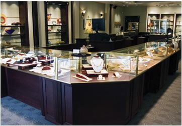 Jewelry Display Cases arrow Retail Store Displays