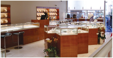 Display Cases and Jewelry Showcases